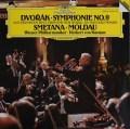 カラヤンのドヴォルザーク/交響曲第9番「新世界より」ほか 独DGG   2910 LP レコード