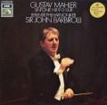 バルビローリのマーラー/交響曲第9番  独EMI  2905 LP レコード