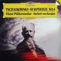 カラヤンのチャイコフスキー/交響曲第4番   独DGG   2910 LP レコード