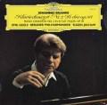 ギレリス&ヨッフムのブラームス/ピアノ協奏曲第2番 独DGG 2905 LP レコード