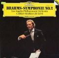 ジュリーニのブラームス/交響曲第2番  独DGG  2905 LP レコード