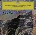 クーベリックのマーラー/交響曲第6&10番  独DGG 2905 LP レコード