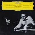 アルゲリッチ&アバドのショパン&リスト/ピアノ協奏曲 独DGG 2905 LP レコード