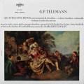 リステンパルトのテレマン/協奏曲集 仏ERATO