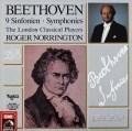 ノリントンのベートーヴェン/交響曲全集 独EMI 2905 LP レコード