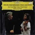 未開封:ムター&カラヤンのモーツァルト/ヴァイオリン協奏曲第3&5番 独DGG 2905 LP レコード