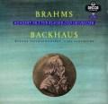 バックハウス&シューリヒトのブラームス/ピアノ協奏曲第2番 独DECCA 2906 LP レコード