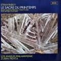 メータのストラヴィンスキー/「春の祭典」 英DECCA 2906 LP レコード