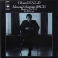 グールドのバッハ/パルティータ第2、4、5番 独CBS  2703 LP レコード
