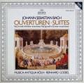 ムジカ・アンティクヮ・ケルンのバッハ/管弦楽組曲第2&5番 独ARCHIV 2836 LP レコード
