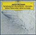 カラヤンのブルックナー/交響曲第4番「ロマンティック」 独DGG 2906 LP レコード