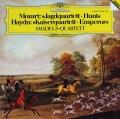 アマデウス四重奏団のモーツァルト/弦楽四重奏曲第17番「狩」ほか 独DGG 2906 LP レコード