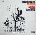 【オリジナル盤】メータのR.シュトラウス/「ドン・キホーテ」  英DECCA 2914 LP レコード