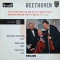 カザルストリオのベートーヴェン/ピアノ三重奏曲第3番ほか 蘭PHILIPS  2906 LP レコード