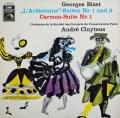 クリュイタンスのビゼー/「アルルの女」&「カルメン」組曲  独EMI 2906 LP レコード