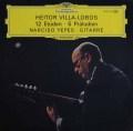 イエペスのヴィラ=ロボス/12の練習曲&5つの前奏曲 独DGG  2914 LP レコード