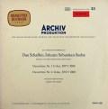 リヒターらのバッハ/管弦楽組曲第1〜4番(全曲) 独ARCHIV 2906 LP レコード
