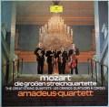 アマデウス四重奏団のモーツァルト/後期弦楽四重奏曲集 独DGG 2914 LP レコード