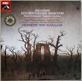 カラヤンのブラームス/ドイツ・レクイエム  独EMI  2914 LP レコード