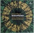 カラヤンのワーグナー/楽劇「ジークフリート」 独DGG 2914 LP レコード