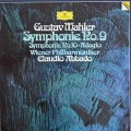 アバドのマーラー/交響曲第9&10番 独DGG 2838 LP レコード