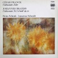 シュンク&シュミットのブラームス/ヴァイオリンソナタ第3番ほか 独ETERNA 2838 LP レコード