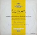 フリッチャイのバルトーク/弦楽器と打楽器とチェレスタのための音楽 独DGG 2916 LP レコード