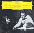 アルゲリッチ&アバドのショパン&リスト/ピアノ協奏曲 独DGG 2916 LP レコード