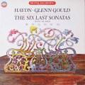グールドのハイドン/ピアンソナタ集 独CBS 2621 LP レコード