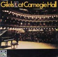 ギレリスのカーネギーホールコンサート 独EMI 2916 LP レコード