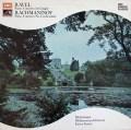 ミケランジェリ&グラチスのラフマニノフ&ラヴェル/ピアノ協奏曲集 英EMI 2916 LP レコード