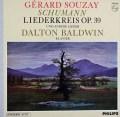 スゼー&ボールドウィンのシューマン/「リーダークライス」 蘭PHILIPS 2916 LP レコード