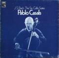 カザルスのバッハ/無伴奏チェロ組曲 英EMI 2916 LP レコード