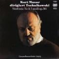マズアのチャイコフスキー/交響曲第4番 独ETERNA 2916 LP レコード
