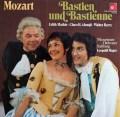 マティス、ベリーらのモーツァルト/「バスティアンとバスティエンヌ」 独BASF 2916 LP レコード