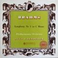 【オリジナル盤】 クレンペラーのブラームス/交響曲第1番 英Columbia 2916 LP レコード
