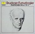 フルトヴェングラーのブルックナー/交響曲第4、7、8、9番 独DGG 2916 LP レコード