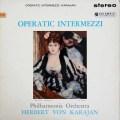 【オリジナル盤】 カラヤンのオペラ間奏曲集 英Columbia 2842 LP レコード
