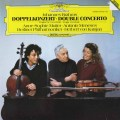 ムター、メネセス&カラヤンのブラームス/ヴァイオリンとチェロのための二重協奏曲ほか 独DGG  2707 LP レコード