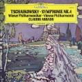 アバドのチャイコフスキー/交響曲第4番 独DGG 2842 LP レコード