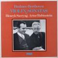 シェリング&ルービンシュタインのヴァイオリンソナタ集  独RCA  2639 LP レコード