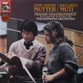 ムター&ムーティのモーツァルト/ヴァイオリン協奏曲第2&4番 独EMI  2708 LP レコード