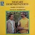 タックウェル&マリナーのモーツァルト/ホルン協奏曲集 独EMI 2918 LP レコード