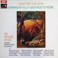 ボールトのヴォーン・ウィリアムズ/交響曲第5番ほか 英EMI 2918 LP レコード