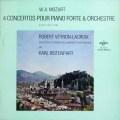 ラクロワ&リステンパルトのモーツァルト/ピアノ協奏曲  仏ERATO  2642 LP レコード