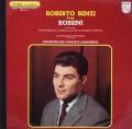 ベンツィのロッシーニ/序曲集ほか 仏PHILIPS  2918 LP レコード