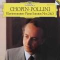 ポリーニのショパン/ピアノソナタ第2番「葬送行進曲付き」&第3番 独DGG 2844 LP レコード