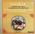 ロヴィツキのドヴォルザーク/交響曲第5番&「謝肉祭」序曲 蘭PHILIPS   2918 LP レコード