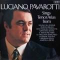 【オリジナル盤】パヴァロッティのテノール・オペラ・アリア集 英DECCA 2918 LP レコード