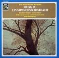 ハーパー、ベイカー&クレンペラーのメンデルスゾーン/「真夏の夜の夢」  独EMI  2844 LP レコード